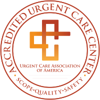Accredited By The Urgent Care Association (UCA), recognized as the largest, most notable trade and professional association in urgent care. UCA exists to advance and distinguish the role of urgent care and on-demand medicine as a healthcare destination and support the ongoing success of our membership through education, advocacy, community awareness, benchmarking and promoting standards of excellence.
